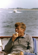 Jfk_with_ice_cream_cone