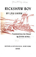 En_1945_rickshaw_boy_evan_king