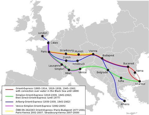 Orientexpress_historic_routes